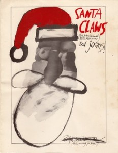 Santa Claws - Ted Joans and Ralph Steadman