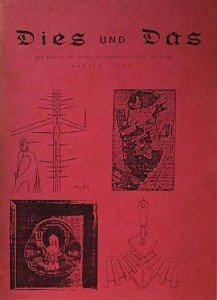 Dies und Das - Ted Joans - German Surrealist Magazine